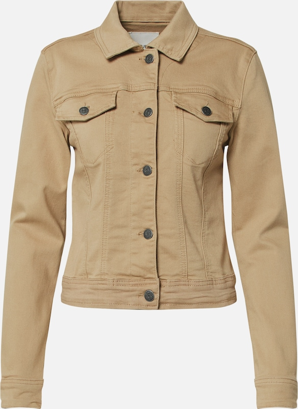 OBJECT Jeansjacke 'WIN NEW' in beige, Produktansicht