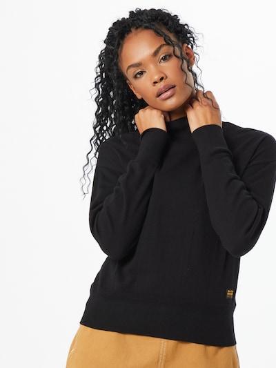 G-Star RAW Pullover in schwarz, Modelansicht