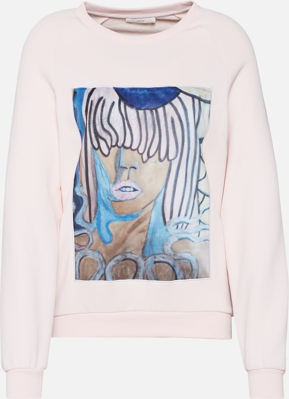 En Face' Mélange Sweat 'posirene shirt CouleursPoudre De Postyr IbeDYE9WH2