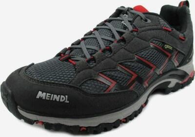 MEINDL Lage schoen in de kleur Basaltgrijs / Rood / Zwart, Productweergave