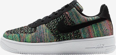 Nike Sportswear Sneaker 'Air Force 1 Flyknit 2.0 BG' in türkis / limette / mischfarben / pitaya / schwarz, Produktansicht