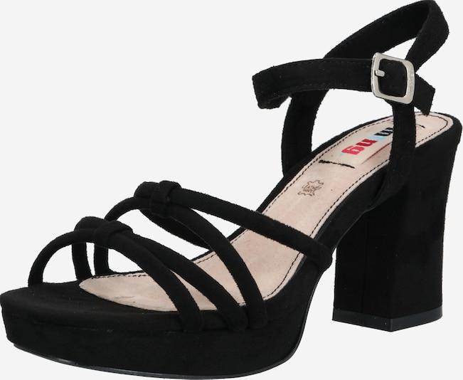 MTNG Sandalen met riem 'VOLGA' in Zwart 0GwIq0OD