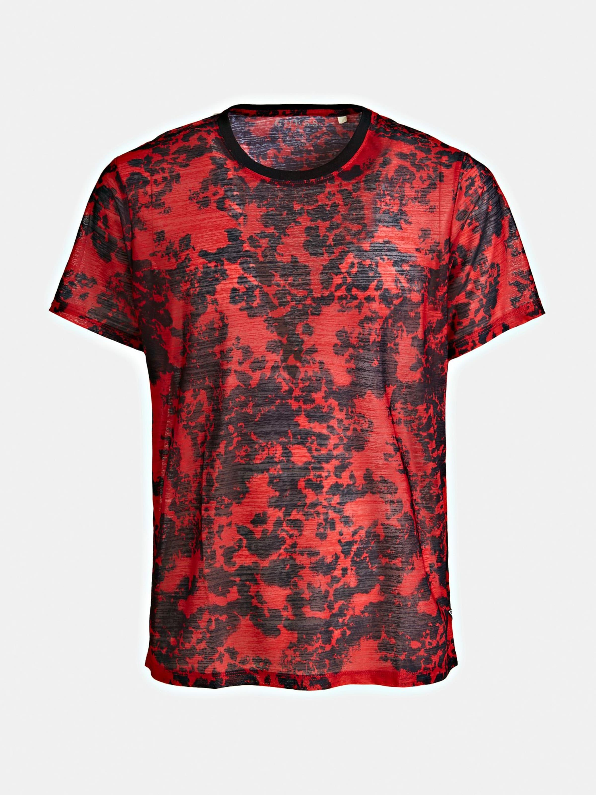 FeuerrotSchwarz shirt In Guess T Guess tdhrsCQ