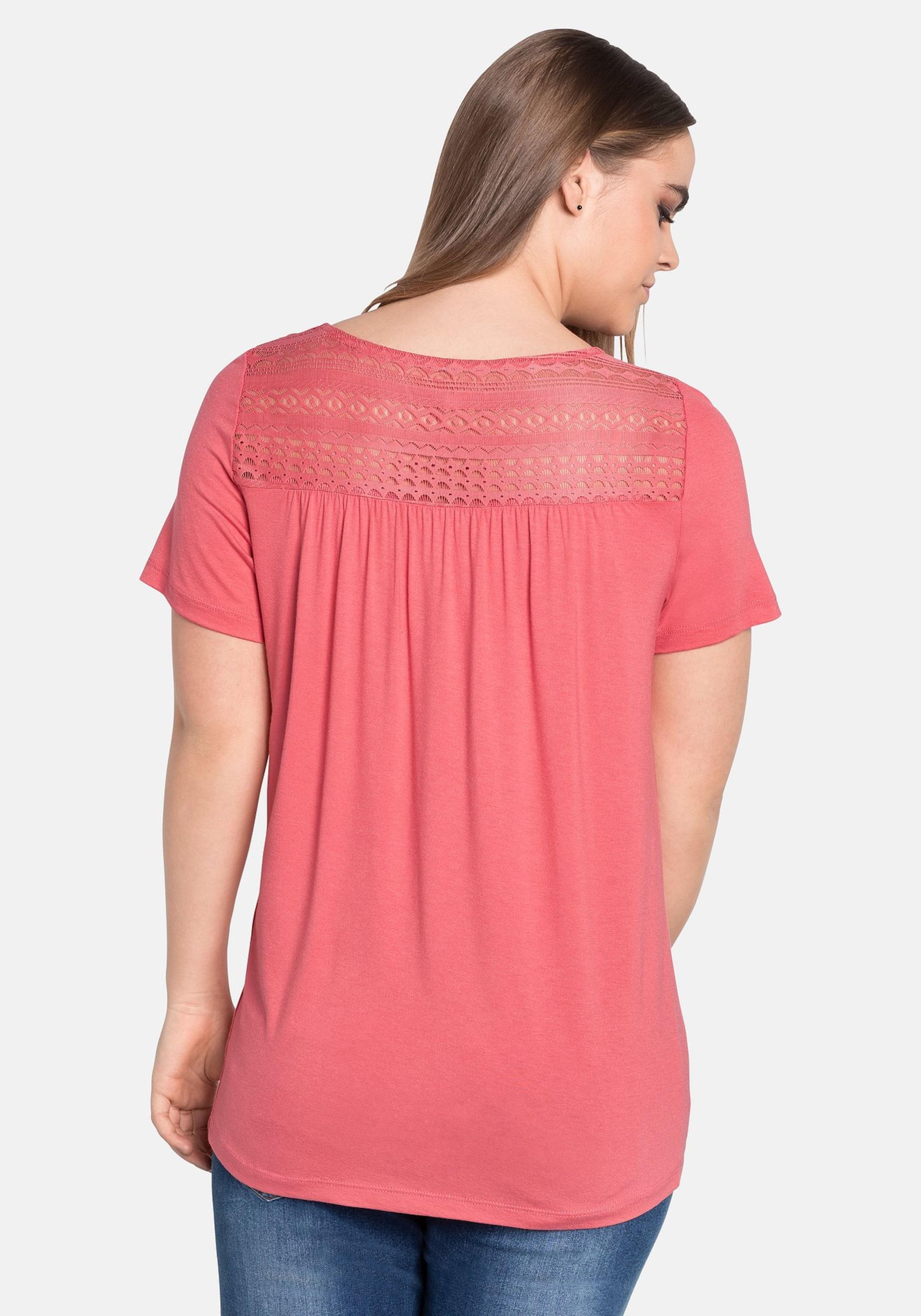 Sheego Rosé In T shirt In shirt Sheego T n0NOvm8w