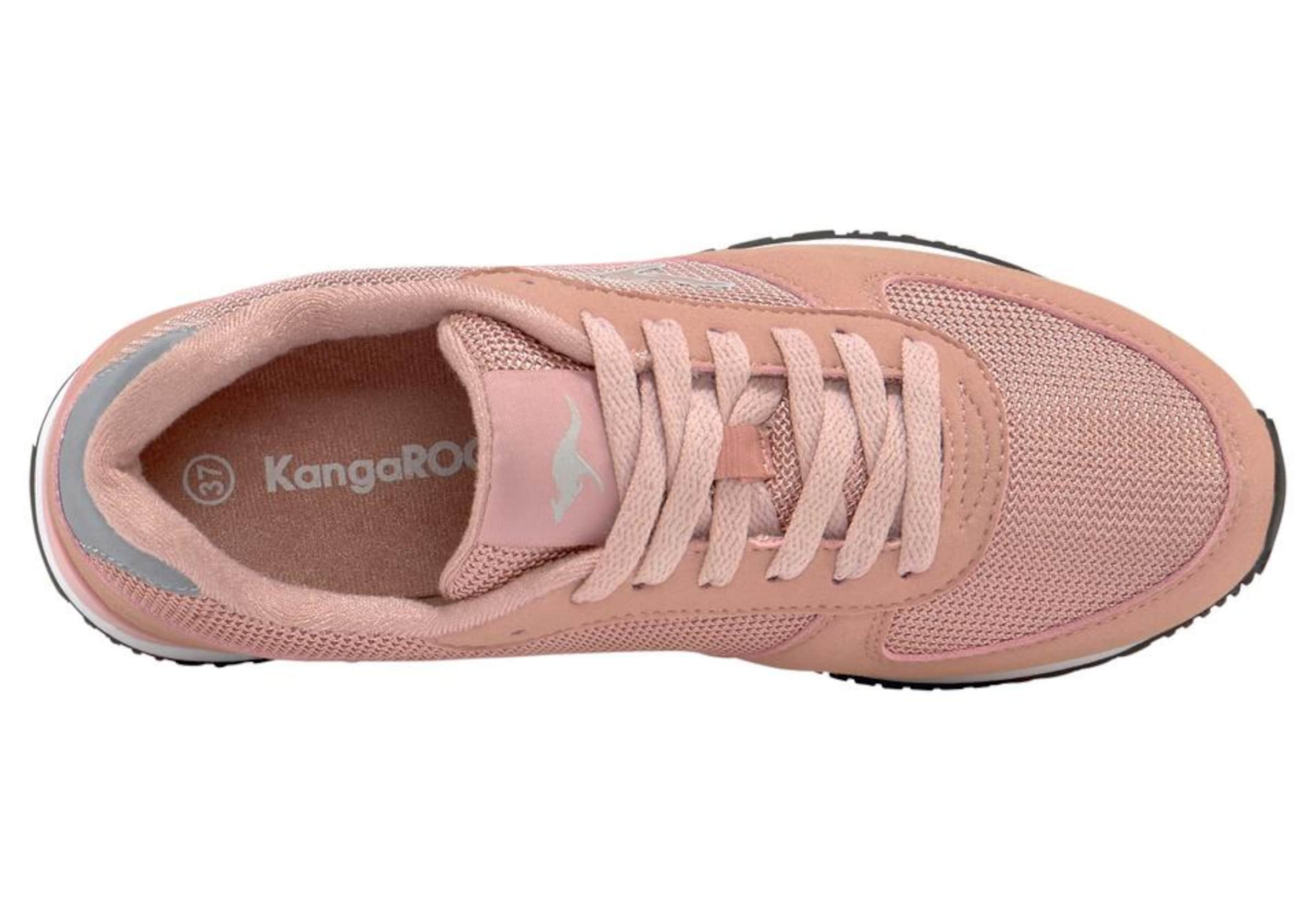 Racer' Sneaker In 'retro Kangaroos GraumeliertRosé nvNw0Om8