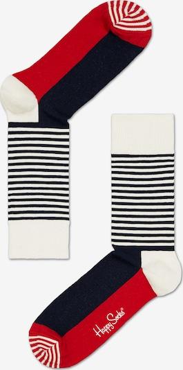 Happy Socks Socken in rot / schwarz / weiß, Produktansicht
