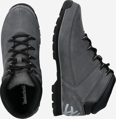 Auliniai batai su raišteliais 'Euro Sprint Hiker' iš TIMBERLAND , spalva - pilka / juoda: Vaizdas iš šono