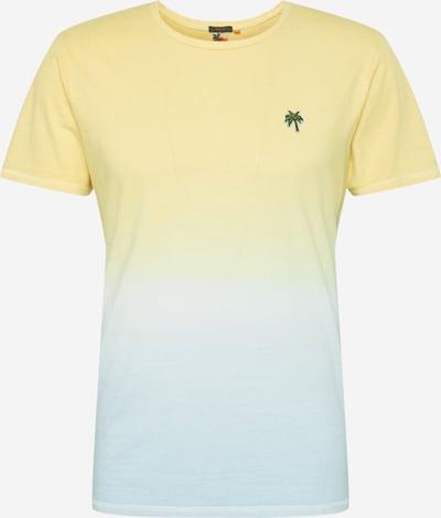 Marškinėliai iš Hailys Men , spalva - azuro / šviesiai mėlyna / tamsiai ruda / geltona / žalia, Prekių apžvalga