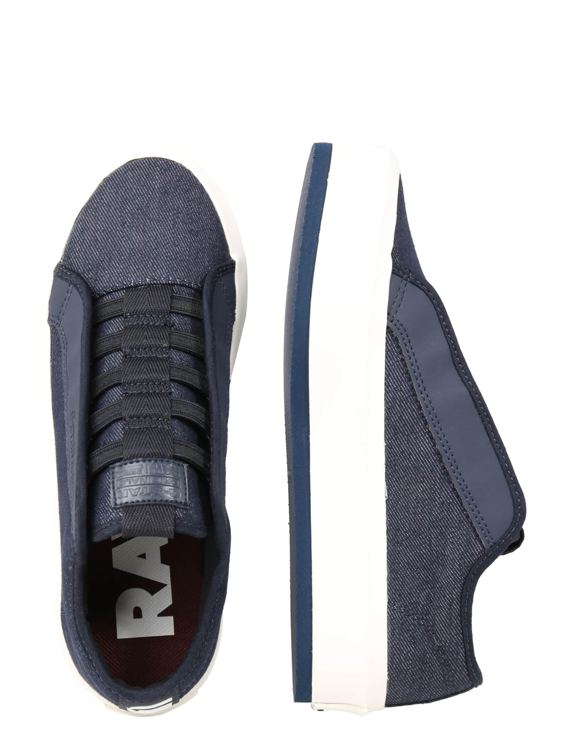 G Up' Denim Lace Sneaker 'strett In star Raw Dunkelblau lJFKT1c