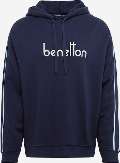 UNITED COLORS OF BENETTON Hoodie in dunkelblau, Produktansicht