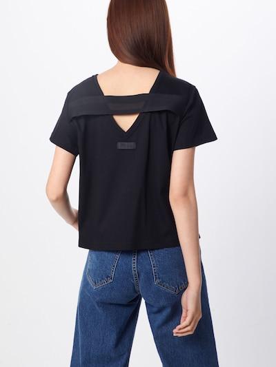 DIESEL T-shirt 'T-RYLY' en noir: Vue de dos