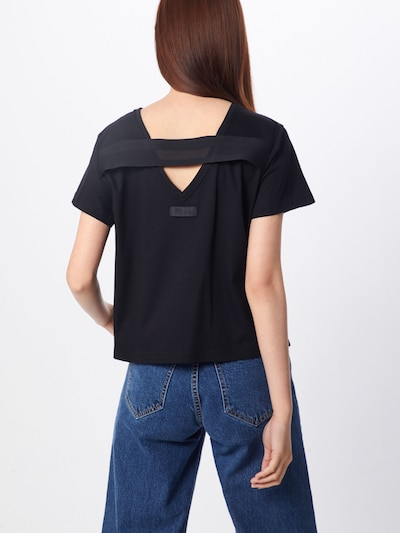 Tricou 'T-RYLY' DIESEL pe negru: Privire spate