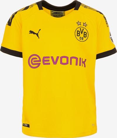 PUMA Trikot 'Borussia Dortmund Home 2019/2020' in gelb / himbeer / schwarz, Produktansicht