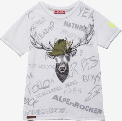 BONDI Shirt in grau / weiß, Produktansicht