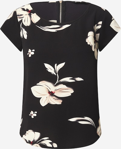 ONLY T Shirt in champagner / schwarz, Produktansicht
