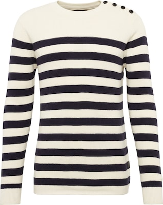 G-STAR RAW Pullover 'Dadin stripe r knit l/s'