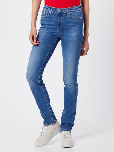 Calvin Klein Jeans Jeansy '021' w kolorze niebieski denimm: Widok z przodu