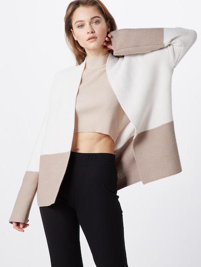 LIEBLINGSSTÜCK Strickjacke 'HeatherL' in offwhite, Modelansicht