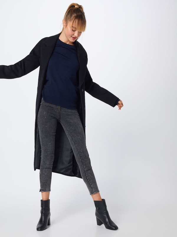 Street Knit' Pull Bleu Foncé En One 'black Friday Fine over XiOPkuTZ