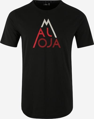 Tricou funcțional 'AlvagniM.' Maloja pe negru, Vizualizare produs