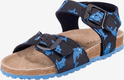 SUPERSOFT by Indigo Sandalen in blau, Produktansicht
