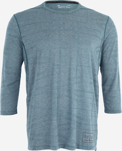 UNDER ARMOUR Sportshirt 'Threadborne Utility' in blau: Frontalansicht