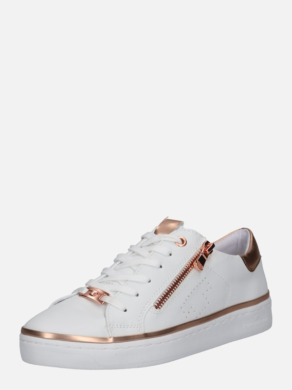 En Basses Baskets Blanc Tailor Tom Rosé qFtE6Fxw