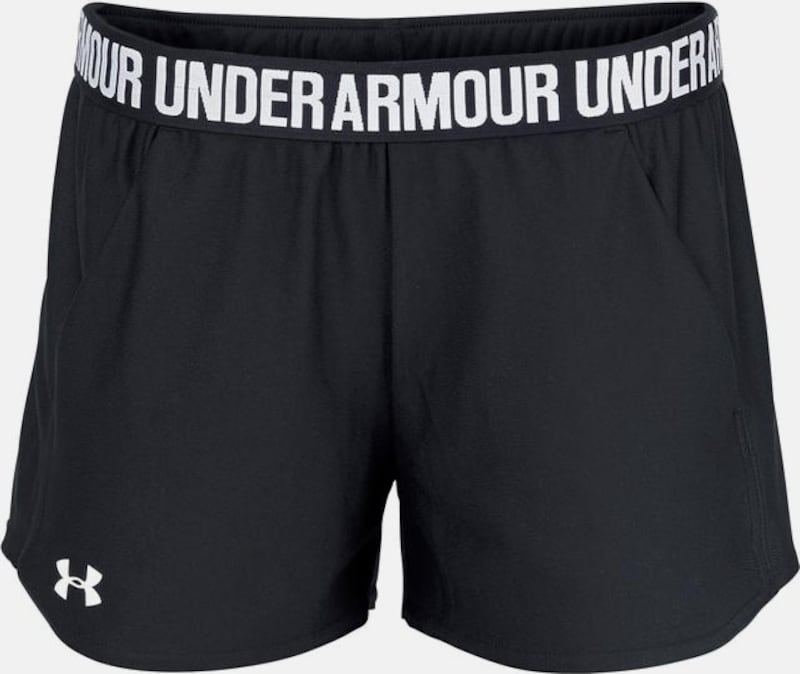 UNDER ARMOUR Shorts 'Play Up' in schwarz, Produktansicht