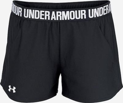 UNDER ARMOUR Shorts 'Play Up' in schwarz: Frontalansicht