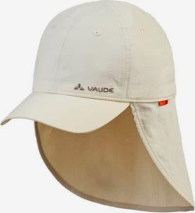 VAUDE Cap in offwhite, Produktansicht