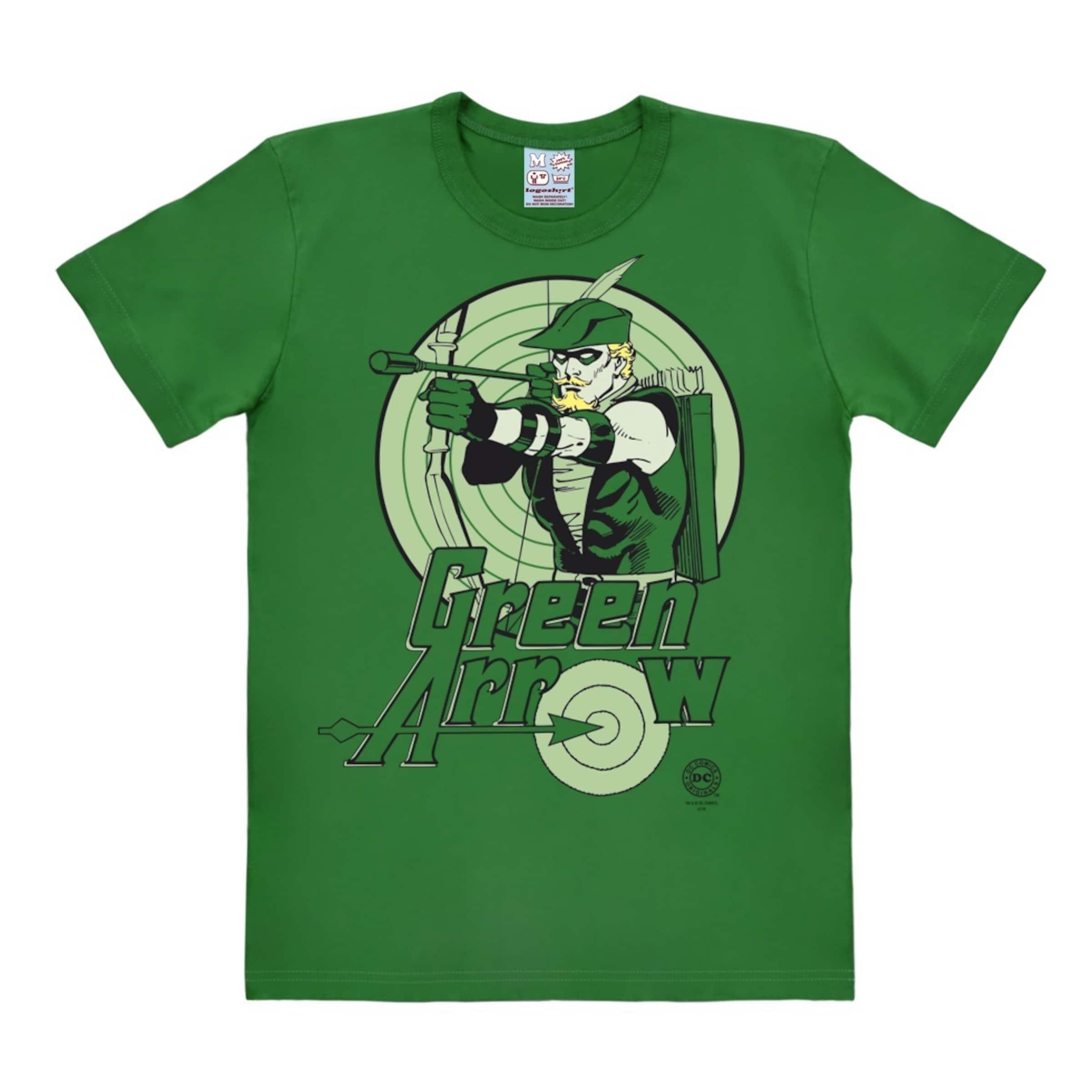 'green GrünPastellgrün shirt T Arrow' In Hellgrün Logoshirt CxeBWrdo