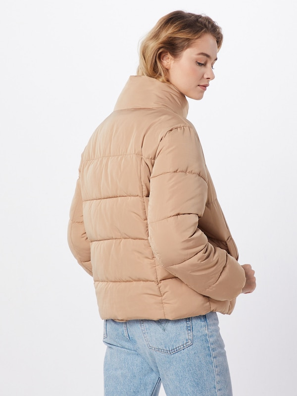 ABOUT YOU Limited Jacke 'Cassandra' by Christina Biluca in beige: Seitenansicht