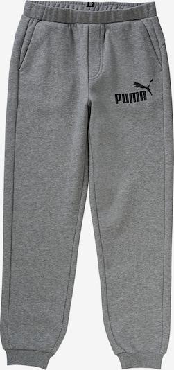 PUMA Jogginghose 'ESS No.1' in graumeliert / schwarz, Produktansicht