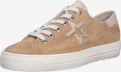 Paul Green Sneakers laag in de kleur Beige / Lichtbruin, Productweergave