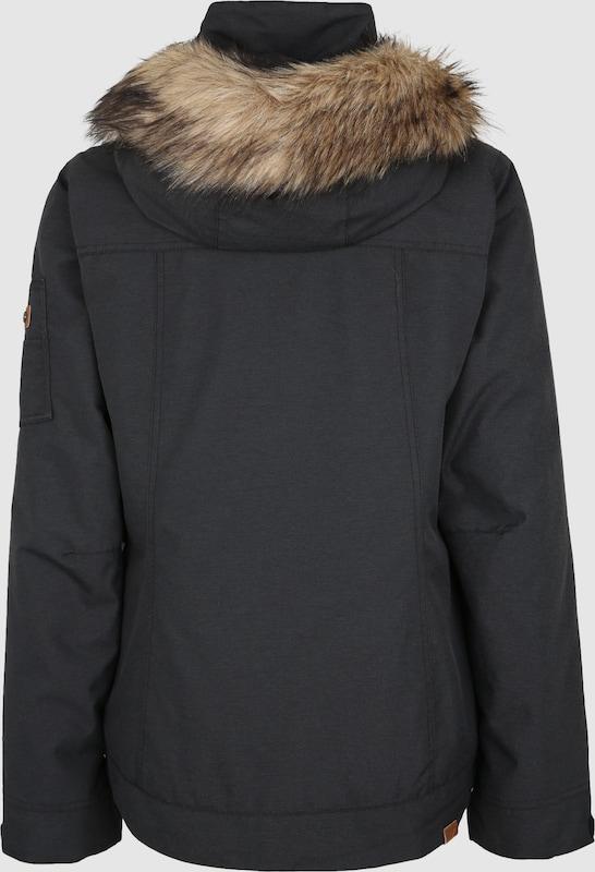 ROXY Kültéri kabátok 'MEADE' fekete színben   ABOUT YOU