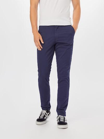 JACK & JONES Chino nohavice 'Marco Dave' - námornícka modrá, Model/-ka