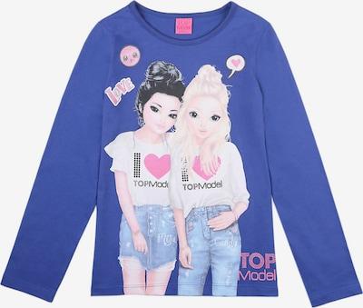 TOP MODEL Shirt Top Model in blau / mischfarben, Produktansicht