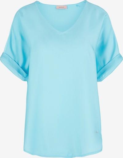 TRIANGLE Blusenshirt in neonblau, Produktansicht