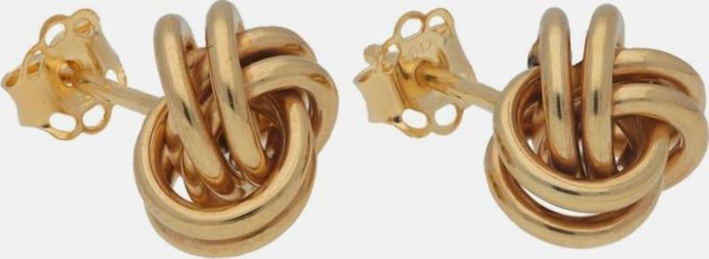 FIRETTI Paar Ohrstecker 'Knoten'