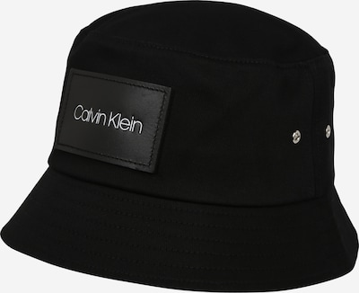 Calvin Klein Hut 'PATCH BUCKET' in schwarz, Produktansicht