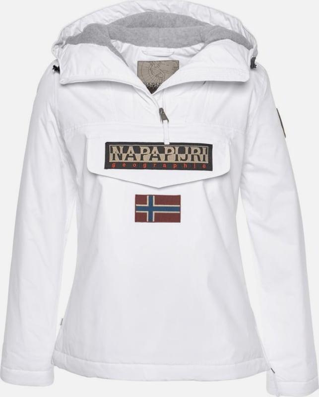 NAPAPIJRI Windbreaker in in in rot   weiß  Neue Kleidung in dieser Saison d09dec