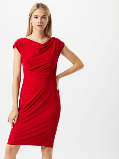 Lauren Ralph Lauren Kleid 'Theona' in rot: Frontalansicht