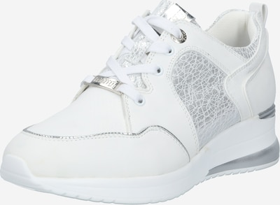 MTNG Baskets basses 'LANA' en argent / blanc, Vue avec produit