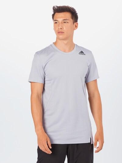 ADIDAS PERFORMANCE Functioneel shirt in de kleur Grijs: Vooraanzicht