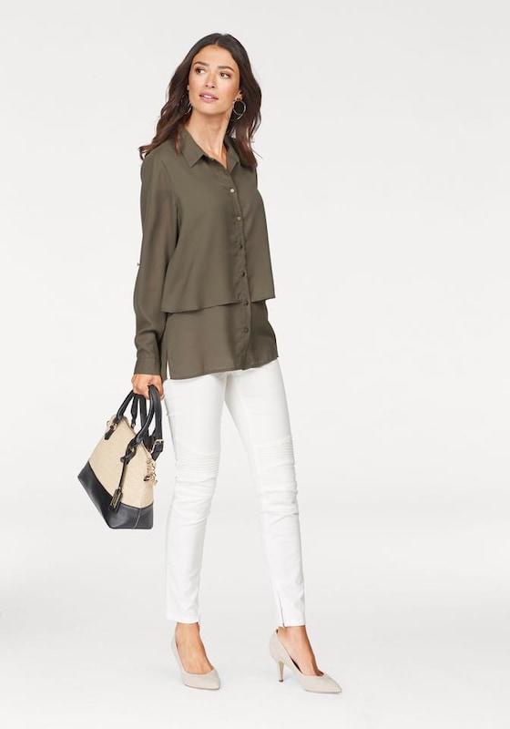LAURA SCOTT Klassische Bluse