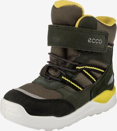 ECCO Winterstiefel in braun / gelb / grün, Produktansicht
