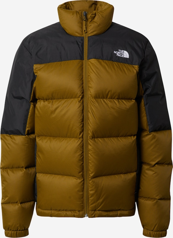 The North Face Outdoor Jacket Diablo In Olive Black About You