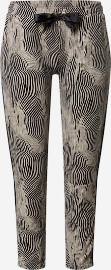 10Days Spodnie w kolorze ecru / czarnym, Podgląd produktu