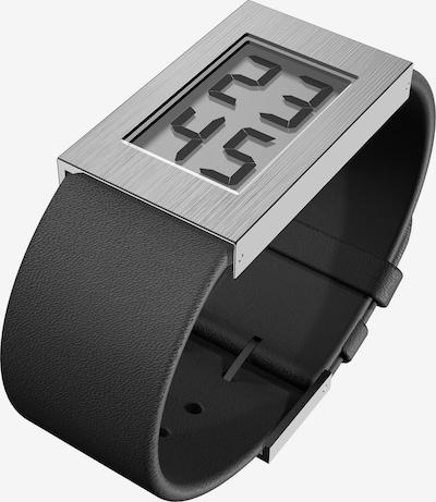 JACOB JENSEN Uhr in schwarz / silber, Produktansicht