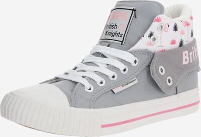 BRITISH KNIGHTS Sneaker 'ROCO' in hellgrau / rosa / weiß, Produktansicht